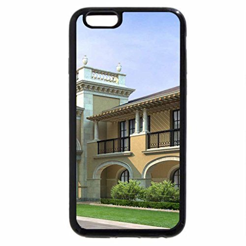 iPhone 6S / iPhone 6 Case (Black) Mansion House Dog House Mansion