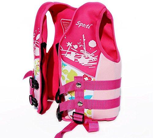 Titop babyoutdoor Outdoor Weste Schwimmen Schwimmen Schutz für Kind Schwimmen unter 20lbs Infant, Weste Farbe Pink klein