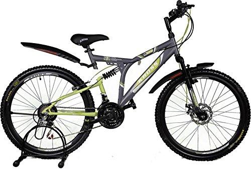 Kross K 40 21Speed Disc 26 Grey&Green 402232 Mountain Cycle(Grey)