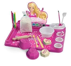 Faro - 6610 - Pâte À Modeler - Tableau De L'artiste - Barbie - 44 X 36 X 5,5 Cm