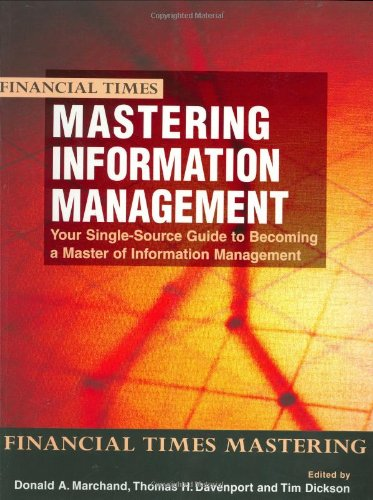 Mastering Information Management