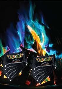 Mystical Fire, polvere colorata per bracieri, set di 10 bustine