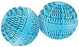 Rosenstein & Söhne Waschbälle: Keramik-Wäscheball mit 80 Mineralstoffen 2er-Set (Wäschekugel)