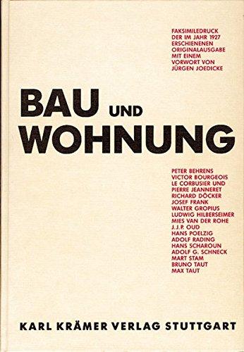 Bau und Wohnung Buch-Cover