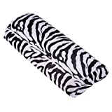 Zebra Stripe Hand Rest Soft Cushion Pillow Nail Art Design Manicure Half Column by SYG