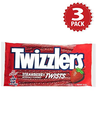 Twizzlers Lakritz - Strawberry - 3er Pack (3x454g)