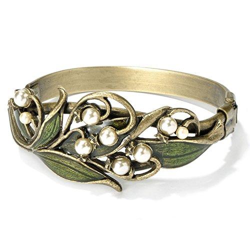 sweet-romance-art-nouveau-muguet-bracelet-de-mariage-vintage