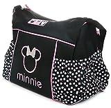 Disney Minnie Mouse Wickeltasche Reise Wickeltasche Large Schwarz Rosa Baby Tote Dots