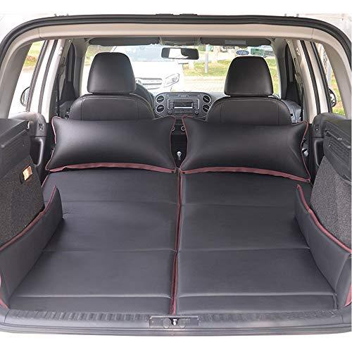 CONRAL Premium Auto-Luftmatratze mit 2-Pack-Kissen, wasserdicht und feuchtigkeitsfest, SUV-Reisematratze, großes Doppelbett im Freien, großes Zeltbett, Twin-Größe,Black