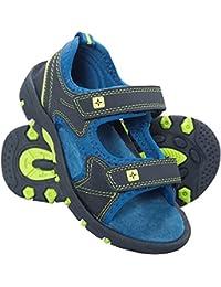 Mountain Warehouse Sandales Enfant garçon Chaussures de marche Réglable Pebble