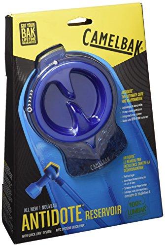 CamelBak Trinkresevoire Antidote Lumbar Reservoir - Bolsa de hidratación para mochila, color transparente, talla M