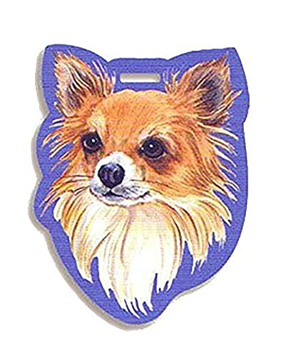 Westport Luggage Tag Chihuahua Long Haired