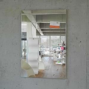 Magnetspiegel max 60x40 cm inkl 5 magnete glas for Spiegel 60x40