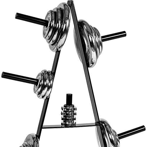 MOVIT® Hantelscheibenständer, bis 250 kg belastbar, 7 Stangen