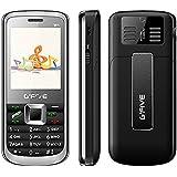 G'Five W1 Plus 4 SIM Basic Feature Mobile Phone(Black)