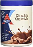 Atkins Low Carb, High Protein, Chocolate Shake Mix, 370g (10 servings)