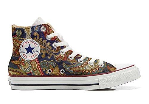 Converse Customized Chaussures Coutume (produit artisanal) Slim