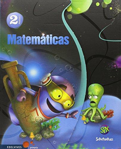 Matemáticas 2º primaria (tres trimestres) (superpixépolis)