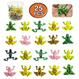 """Best Small World Toys Toys For 3 Yr Olds - COOKY.D 25pcs Small Plastic Jumping Frog Toys 0.9"""" Review"""