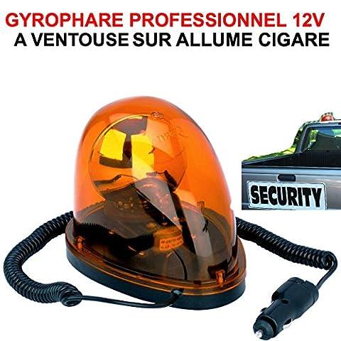 TRES COMPACT ET PUISSANT! GYROPHARE 12V ORANGE A VENTOUSE SUR ALLUME-CIGARE ! SPECIAL 4X4 DEPANNEURS PATROUILLEURS VOITURE 00 ASSISTANCE ! RAID PREPARATION 4X4 VHC RALLYE DEPANNEUSE REMORQUAGE CONVOI ASSISTANCE ! 4X4 RAID TRIAL QUAD CROSS VHC RALLYE AUTO MOTO CAMION CAMPING-CAR SIRENE KLAXON OUTILLAGE ACCESSOIRES SCOOTER YOUNGTIMERS BATEAU MARINE LCM0817