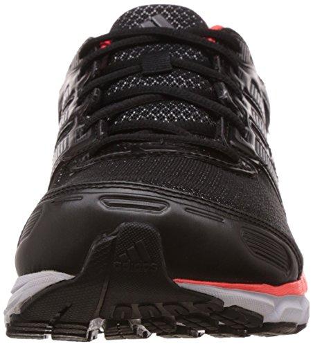 adidas, Scarpe da corsa uomo nero Nero (Negbas / Nocmét / Rojsol)