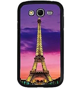 Printvisa Glowing Eiffel Tower Back Case Cover for Samsung Galaxy Grand Neo::Samsung Galaxy Grand Neo i9060