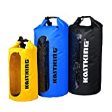 [CLEARANCE SALE] - KastKing® Dry Bag impermeabile per la nautica, rafting, kayak, pesca, canoa, sci, snowboard e viaggi di campeggio - duro, resistente, 100% impermeabile Roll Top Dry Bag - KastKing - amazon.it