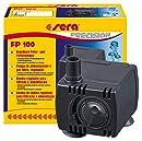 sera 30593 Filter- & Förderpumpe FP Pumpe 100 regelbar fürs Süß- und Meerwasser Aquarium (Qmax: 120 l/h Hmax: 0,30 m bei 1,5 Watt mit EU-Stecker und 8 mm Schlachstutzen sowie 1,8m Netzkabel)
