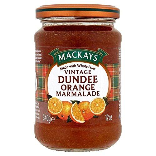 Mackays Klassiker Dundee Orangenmarmelade (340g) - Packung mit 6 (Fox Kuchen Pan)