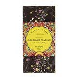 Boella & Sorrisi Tablette Chocolat Noir avec des Fleurs Sauvages 100 g - Lot de 3