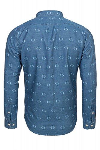 LEE Button Down, Chemise Casual Homme Blau