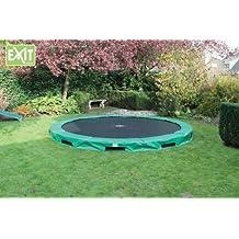 EXIT InTerra 427 cm / 10.08.14.00 / Bodentrampolin / Maße: Ø 427 x 20 cm / Gewicht: 74 kg / max. Belastbarkeit: 120 kg