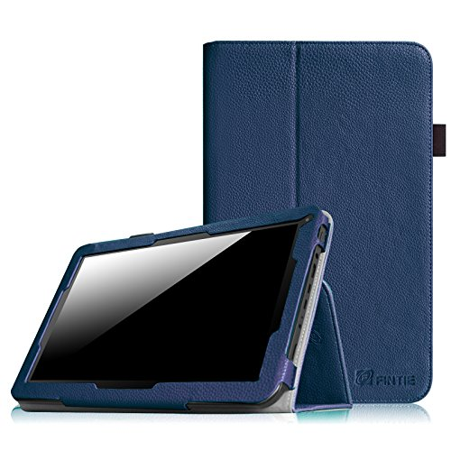 "Fintie Folio Hülle Case Schutzhülle Tasche für 10.1"" Android Tablet-PC Inklusive. iRULU eXpro X1s (10,1 Zoll), iRULU eXpro X1Plus, iRULU eXpro 1Plus, Alldaymall Tablet 10 Zoll A10, Arespark 10.1 Zoll, JYJ 10"" Zoll, AcePad SuperPad XT2 10"" Zoll, Tabexpress (10 Zoll), Polatab Elite Q10.1"", iStyle 2014 New 10.1"" Zoll, COMAG Android WIFI WTDR1018 (10,1 Zoll), NINETEC Platinum 10"" Zoll neues Model 2014 - Marineblau"