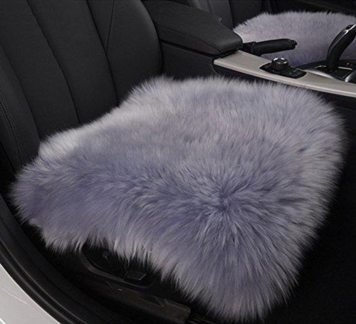 Preisvergleich Produktbild haocoo 45,7cm Luxuriöse Pelz lange Wolle Autositzbezüge Sessel Pad (One Cover)