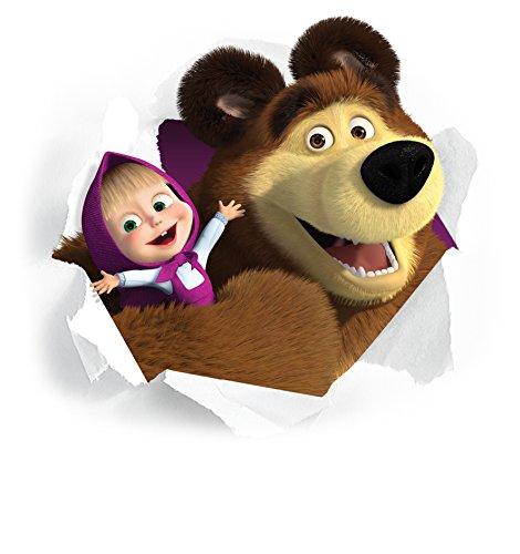 masha y el oso pegatinas de pared