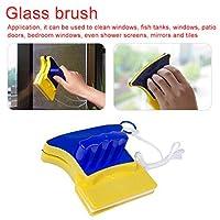 illumafye Double-sided Magnetic Window Cleaner Brush Glass Cleaner Window Cleaner Household Cleaning Tools-双面清洁玻璃擦