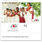 Points for People - Educate a Girl Child Charity Card
