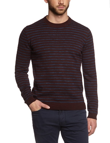 Marc O'Polo Herren Pullover 427602860506 Braun (dark grape 680)