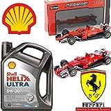 Shell Helix Ultra ECT C3 5w30 Motoröl 100% Synthetisch 5LT + Ferrari