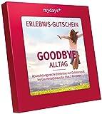 mydays Erlebnis-Gutschein GOODBYE ALLTAG | 50 Erlebnisse an über 330 Orte | Inklusive Geschenkbox