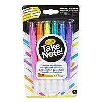 CRAYOLA Erasable Highlighter Pens, 58-6504-E-000, White