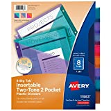 Best Avery Dividers - Avery Big Tab Pocket Plastic Insertable Dividers, Student Review
