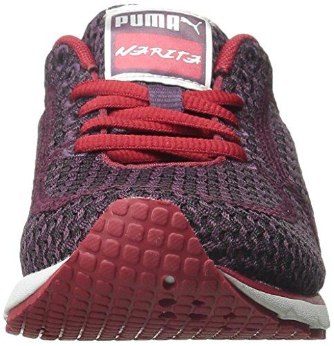 Puma Narita v3 Knit Toile Baskets Italian Plum-Black