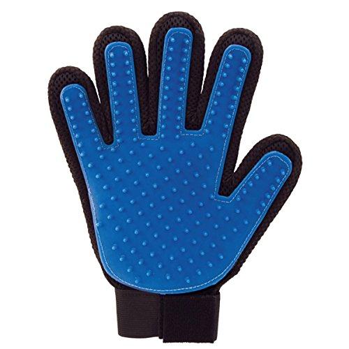 WHATM Das ultimative Fellpflege Handschuh Massagegerät Handschuhe für Hunde, Katzen, Kaninchen, Pferde