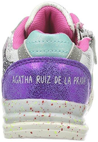 La De Mädchen Low plata 161965 Agatha Silber Ruiz Prada top TqaxIw4