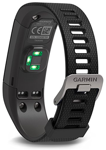 Garmin vívosmart HR+ Fitness-Tracker – GPS-fähig, Herzfrequenzmessung am Handgelenk, Smart Notifications - 4