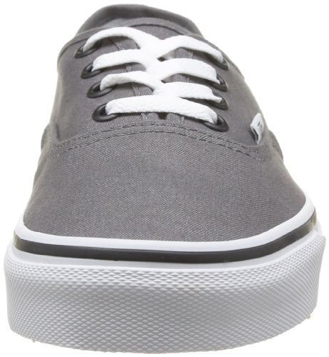 Vans Authentic Unisex-Erwachsene Sneakers Grau (Grau (Pewter/Black))