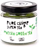 PureChimp Super Tea (Matcha Green Tea Powder) 50g - Ceremonial Grade From Japan - All Natural & Vegan