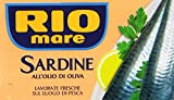 Rio mare - Sardine, all'Olio di Oliva - 4 scatolette da 120 g [480 g]