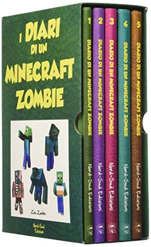 Diario di un Minecraft Zombie: Una sfida da paura-Lo spaventabulli-Il richiamo della natura-Scambio di zombie-Panico a scuola: 1-5